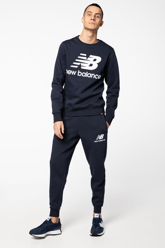 NAVY ESSENTIALS STACKED LOGO NBMP03558-ECL