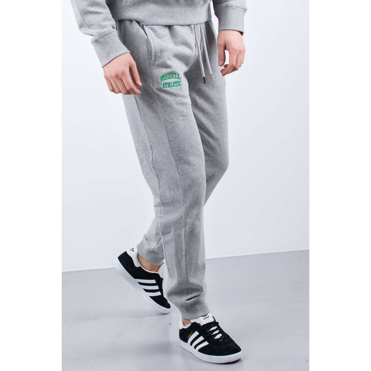 Spodnie Russell Athletic  <br/><small>CUFFED PANT 091 NEW GREY MARL </small>  A90051-091