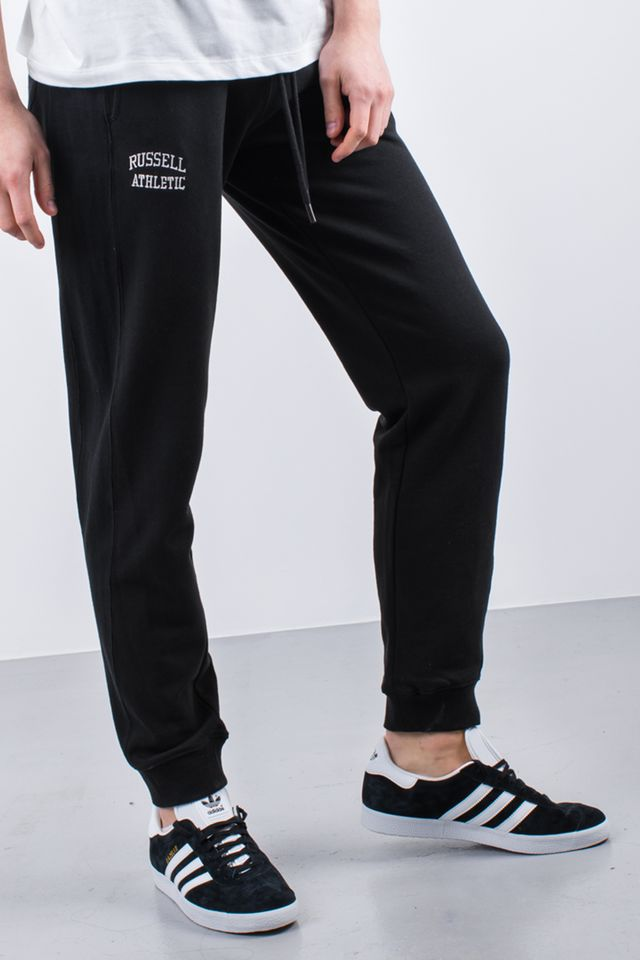 Russell Athletic CUFFED PANT 099 BLACK A90051-099