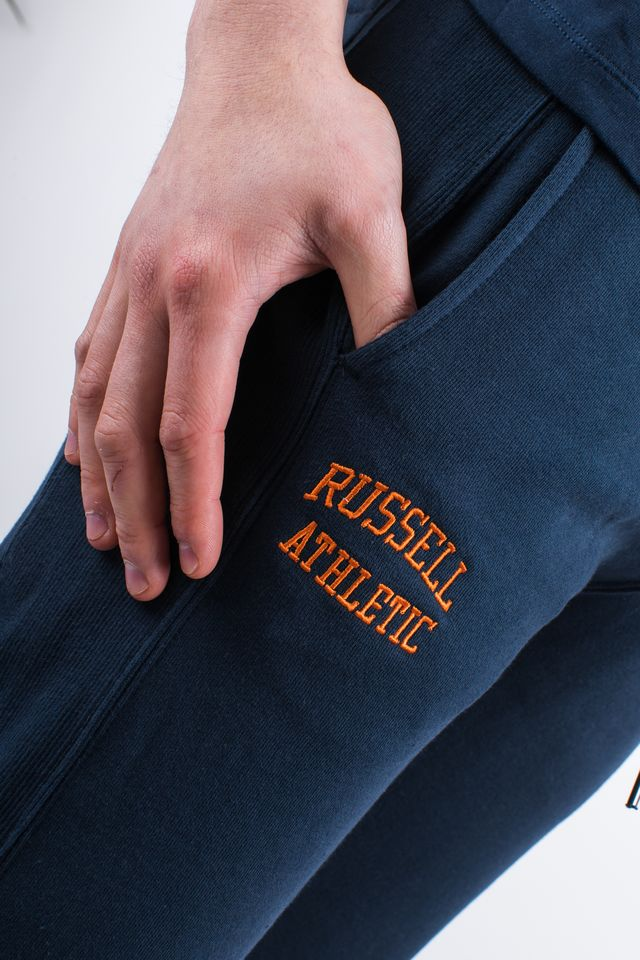 Spodnie Russell Athletic  <br/><small>CUFFED PANT 290 NAVY </small>  A90051-290