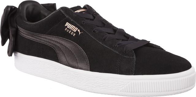 Puma SUEDE BOW WN S PUMA BLACK/PUMA BLACK 36731704