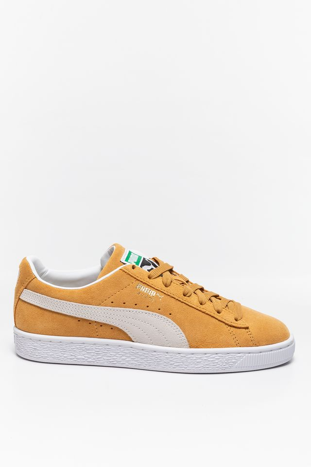 Honey Mustard SNEAKERY Suede Classic XXI Honey Mustard-Puma Whi 37491505