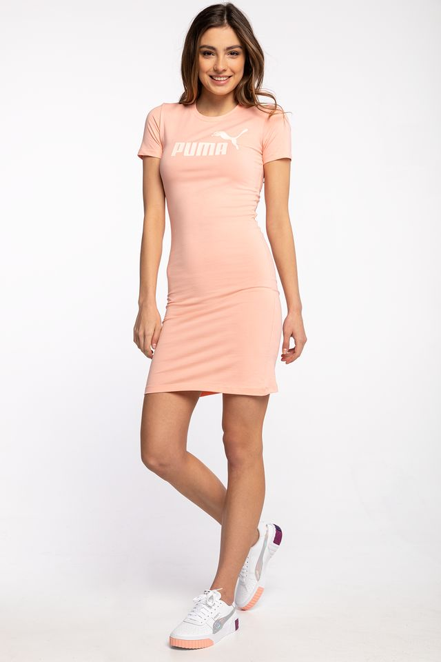 APRICOT BLUSH SUKIENKA MINI ESS Slim Tee Dress Apricot Blush 58691026