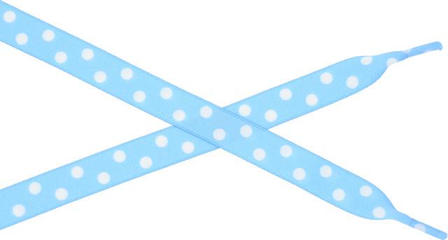 Bestdays Niebieskie w białe kropki 120 cm 5.05