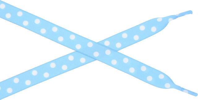 Bestdays Niebieskie w białe kropki 140 cm 6.05