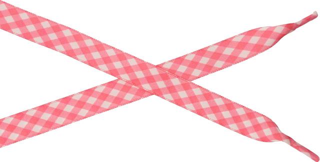 Bestdays Różowo-biała kratka 120 cm 5.07