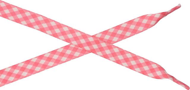 Bestdays Różowo-biała kratka 140 cm 6.07