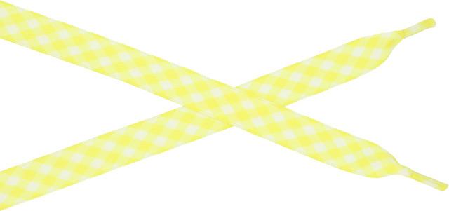 Bestdays Żółto-biała kratka 120 cm 5.09