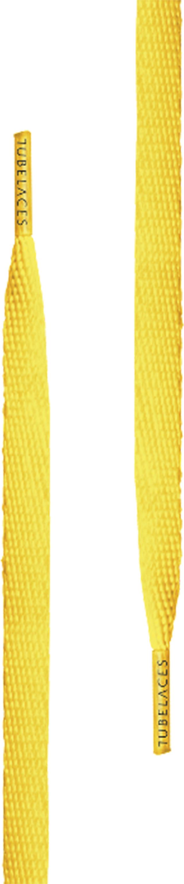 TubeLaces Silver Flat Lemon 120 cm 10153
