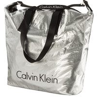 Torba Calvin Klein CITY NYLON SHOPPER LIGHT SILVER K60K604346-910 LIGHT SILVER