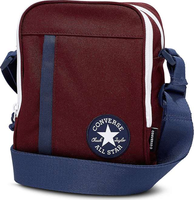 Converse CROSS BODY A04 DARK BURGUNDY/NAVY/WHITE 10006933-A04