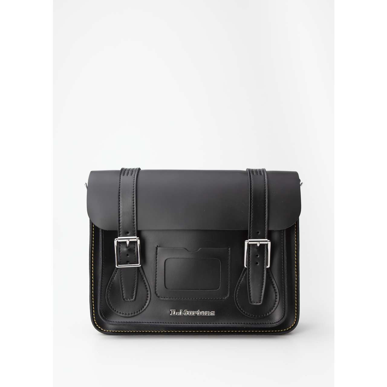 "Torba Dr. Martens  <br/><small>11"" LEATHER SATCHEL 001 BLACK/BLACK KIEV & SMOOTH </small>  DMAB097001"