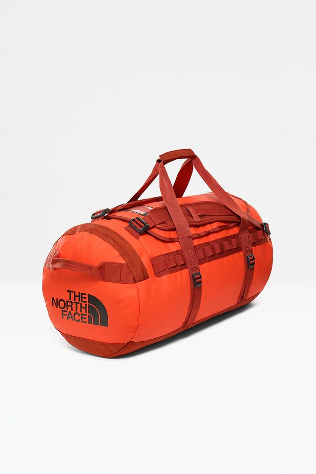 The North Face BASE CAMP DUFFEL S/P FJ5 ACRYLIC ORANGE/PICANTE RED NF0A3ETOFJ51