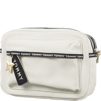 Torba Tommy Hilfiger TH LOGO TAPE CRSSOVE AW0AW05285-104 WHITE