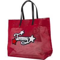 Torba Tommy Hilfiger TH SUMMER TOTE PATCH AW0AW05423-614 TOMMY RED