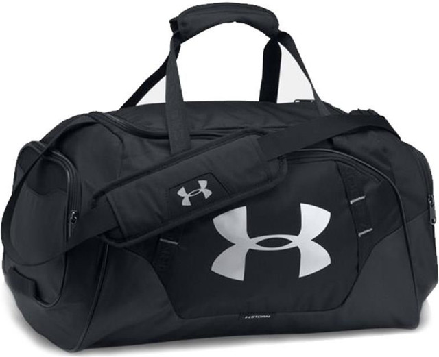 Under Armour UNDENIABLE 3.0 LARGE DUFFEL BAG BLACK 1300216-001