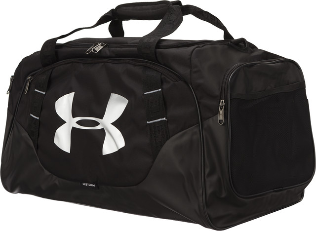 Under Armour UNDENIABLE 3.0 MEDIUM DUFFEL BAG M 001 BLACK 1300213-001