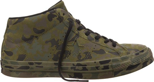 Converse 159746 ONE STAR UTILITY CAMO MID HERBAL/COLLARD/BLACK C159746