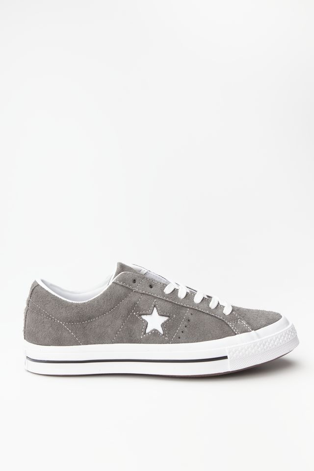 Converse ONE STAR OX 034 CARBON GREY/WHITE/BLACK 165034C