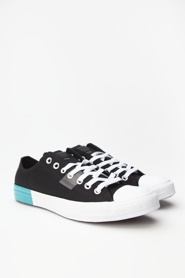 Trampki Converse  <br/><small>CHUCK TAYLOR ALL STAR OX 331 BLACK/ENAMEL RED/WHITE </small>  165331C