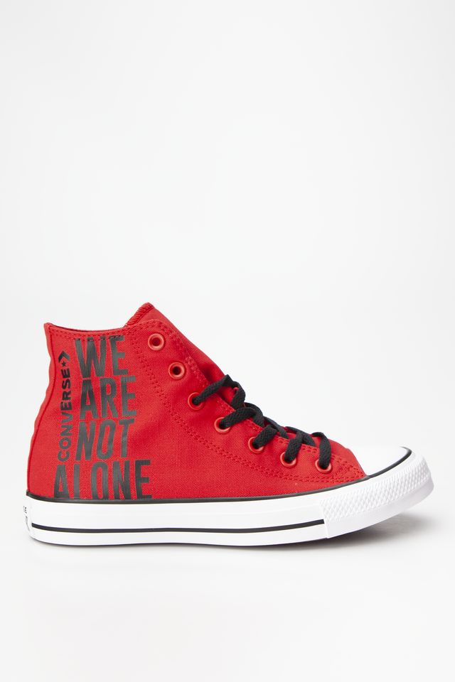 Converse CHUCK TAYLOR ALL STAR HI 467 ENAMEL RED/BLACK/WHITE 165467C