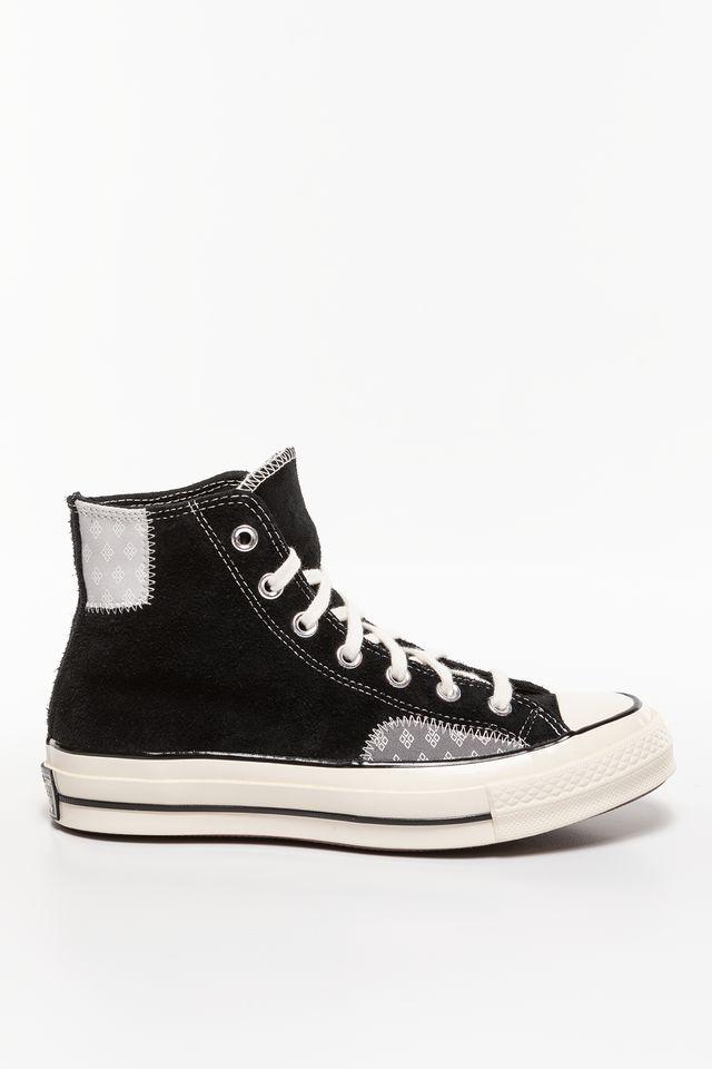 Converse CHUCK 70 HI BLACK 166855C BLACK/MOUSE/EGRET
