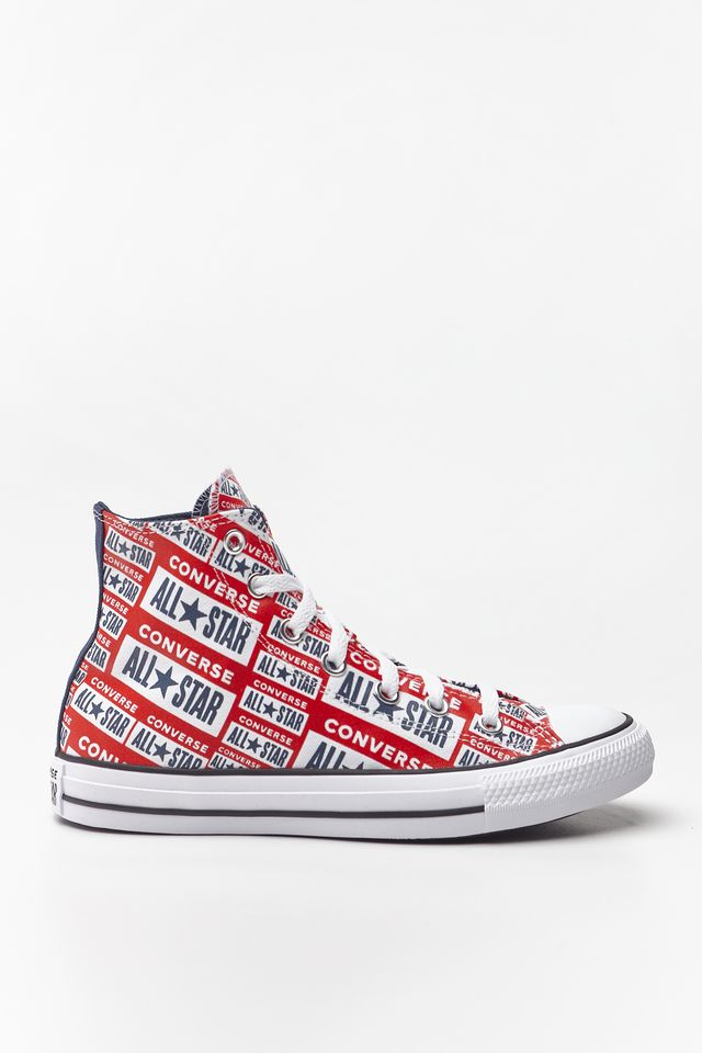 WHITE/MULTI/BLACK CHUCK TAYLOR ALL STAR HI 984
