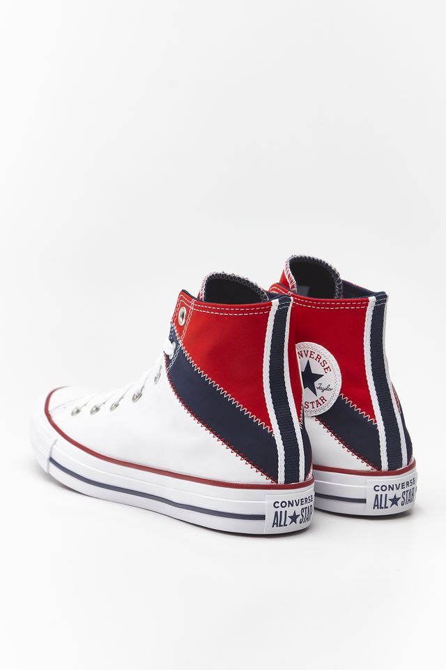 UNIVERSITY RED/OBSIDIAN WHITE CHUCK TAYLOR ALL STAR HI 028