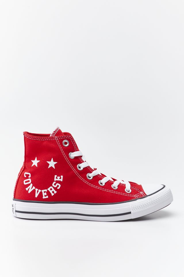 UNIVERSITY RED CHUCK TAYLOR ALL STAR SMILE 069