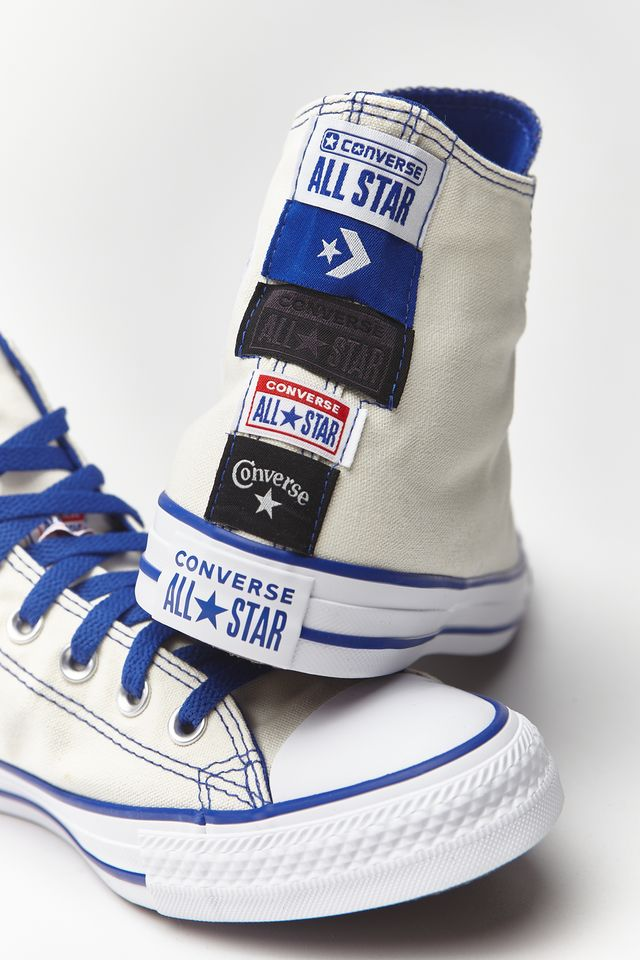 Converse CHUCK TAYLOR ALL STAR HI 172 EGRET/RUSH BLUE/WHITE 167172C