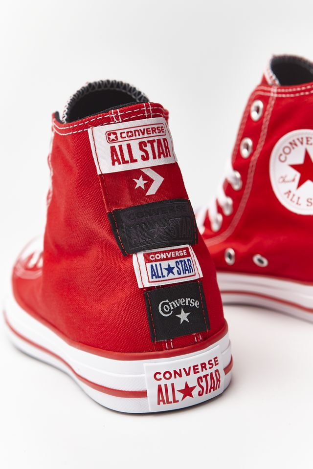 UNIVERSITY RED/WHITE CHUCK TAYLOR ALL STAR HI 173