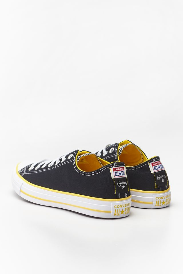 BLACK/AMARILLO/WHITE CHUCK TAYLOR ALL STAR OX 175