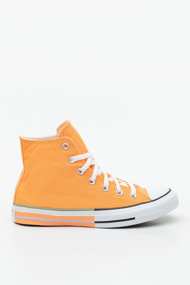 FUEL ORANGE/MOONSTONE VIOLET CHUCK TAYLOR ALL STAR HI 634