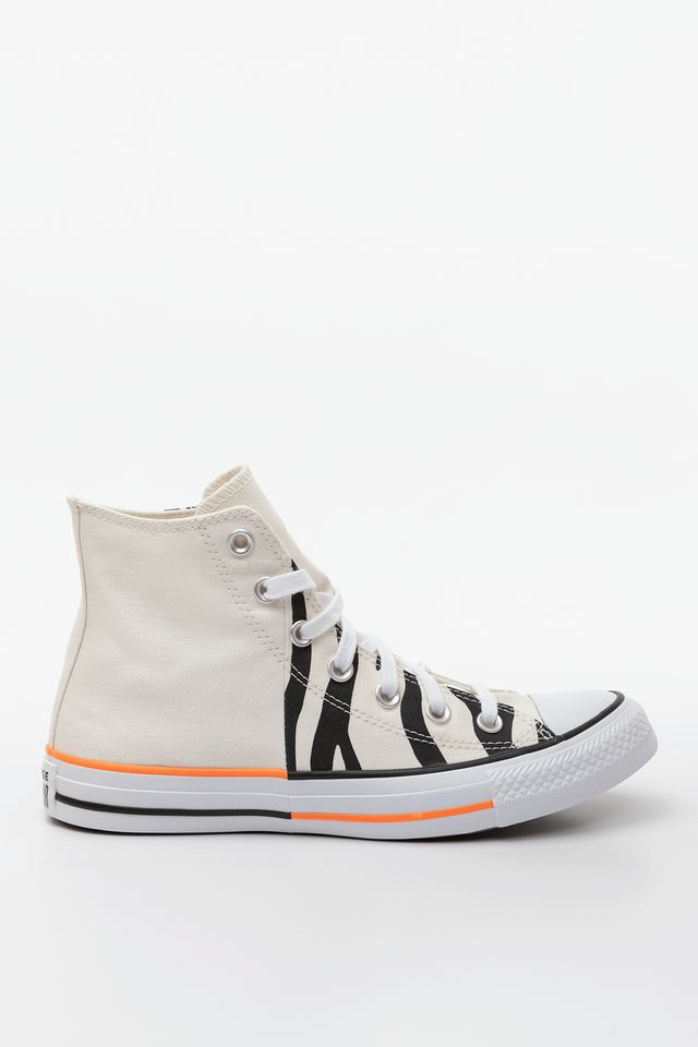 EGRET/TOTAL ORANGE/BLACK CHUCK TAYLOR ALL STAR HI 661