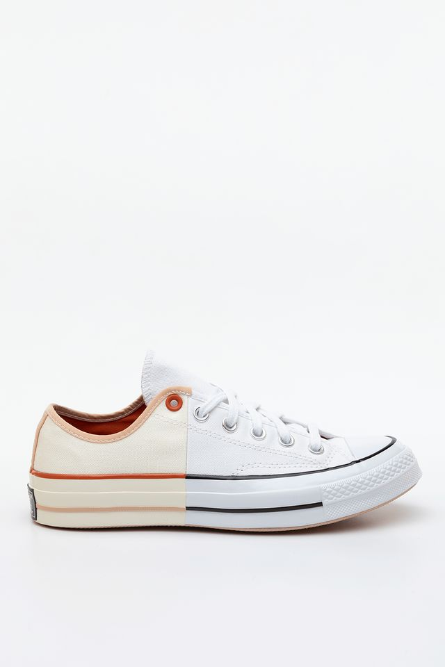 Converse SUNBLOCKED CHUCK 70 LOW TOP 673 WHITE/EGRET/SHIMMER 167673C