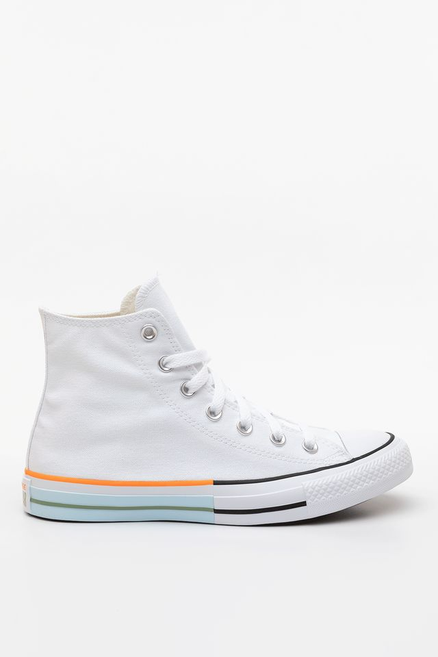 WHITE/STREET SAGE/AGATE BLUE SUNBLOCKED CHUCK TAYLOR ALL STAR HI 751