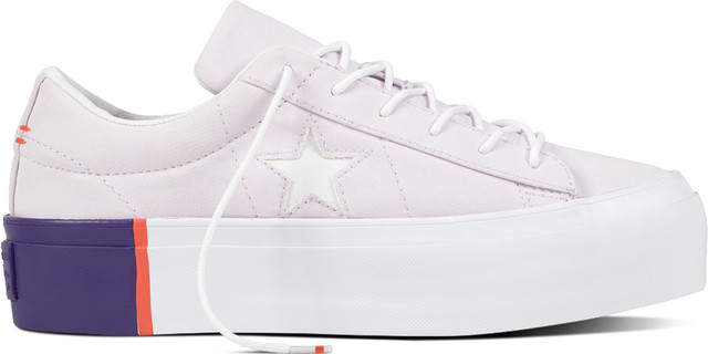 Converse 559902 ONE STAR BARELY GRAPE/RUSH CORAL/WHITE C559902