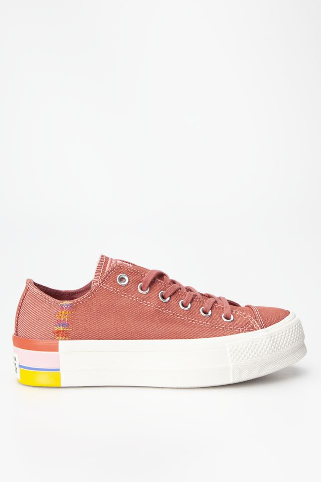COASTAL PINK/LIGHT REDWOOD CHUCK TAYLOR ALL STAR LIFT OX 995