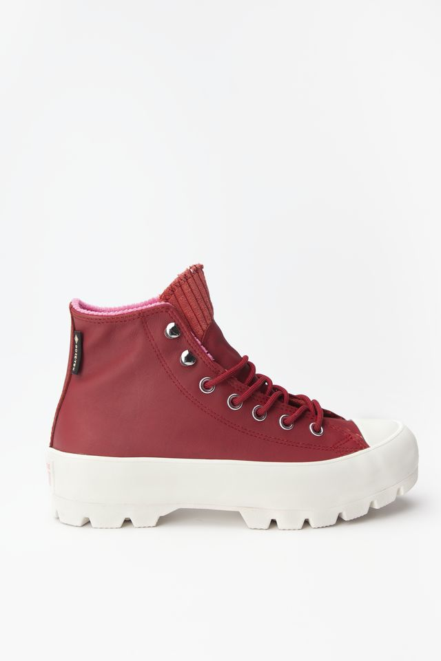 Converse CHUCK TAYLOR ALL STAR LUGGED WINTER HI 007 BACK ALLEY BRICK/HABANERO RED 565007C