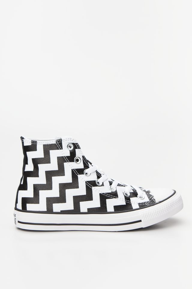 WHITE/BLACK/WHITE CHUCK TAYLOR ALL STAR HI 213