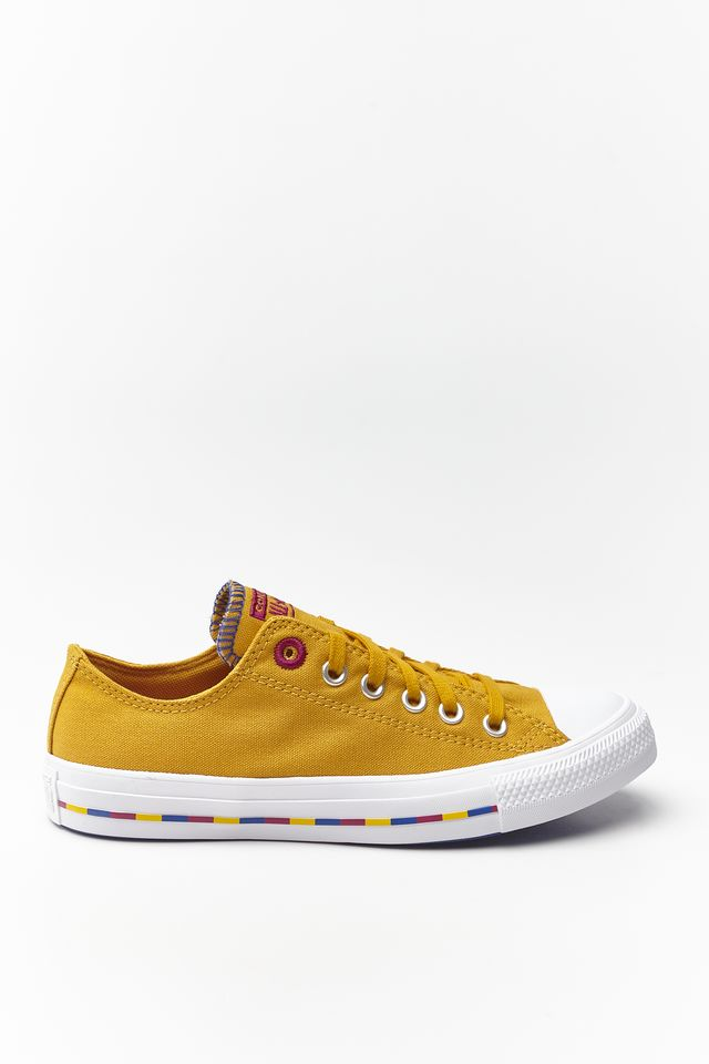 Converse CHUCK TAYLOR ALL STAR 719 SUNFLOWER GOLD/ROSE MAROON 566719C