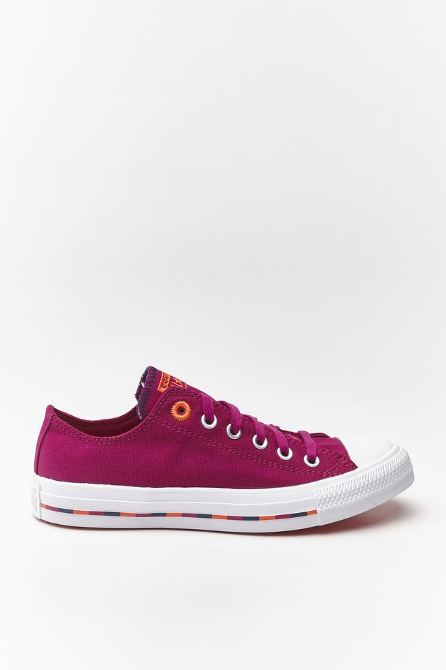 Converse CHUCK TAYLOR ALL STAR 720 ROSE MAROON/VERMILLION RED 566720C