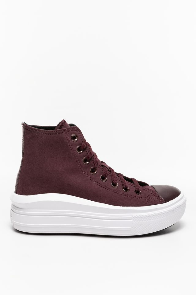 BURGUNDY Diamond Metal Chuck Taylor All Star Move 569544C