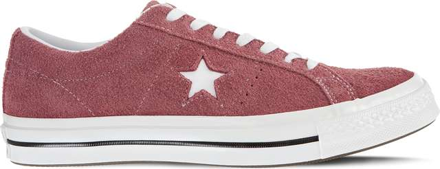 Trampki Converse  <br/><small>ONE STAR BURGUNDY </small>  C158370