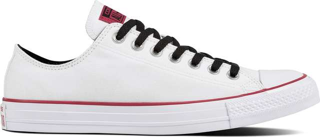 Converse CHUCK TAYLOR ALL STAR COLLEGIATE COLOR WHITE/PINK POP/WHITE C161424