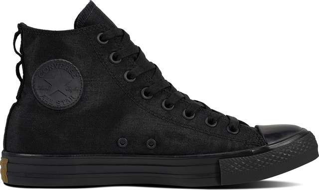 Converse CHUCK TAYLOR ALL STAR CORDURA BLACK/BLACK/BROWN C161428