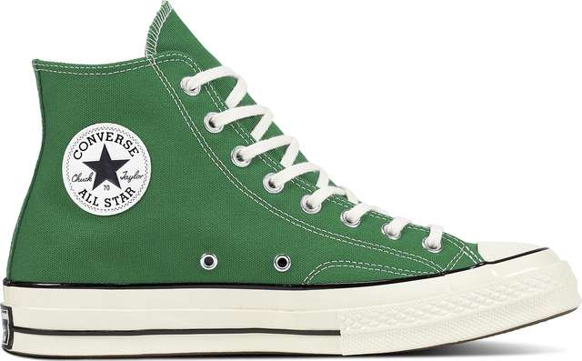 Converse C161441 CHUCK TAYLOR ALL STAR 1970S GREEN/BLACK/EGRET