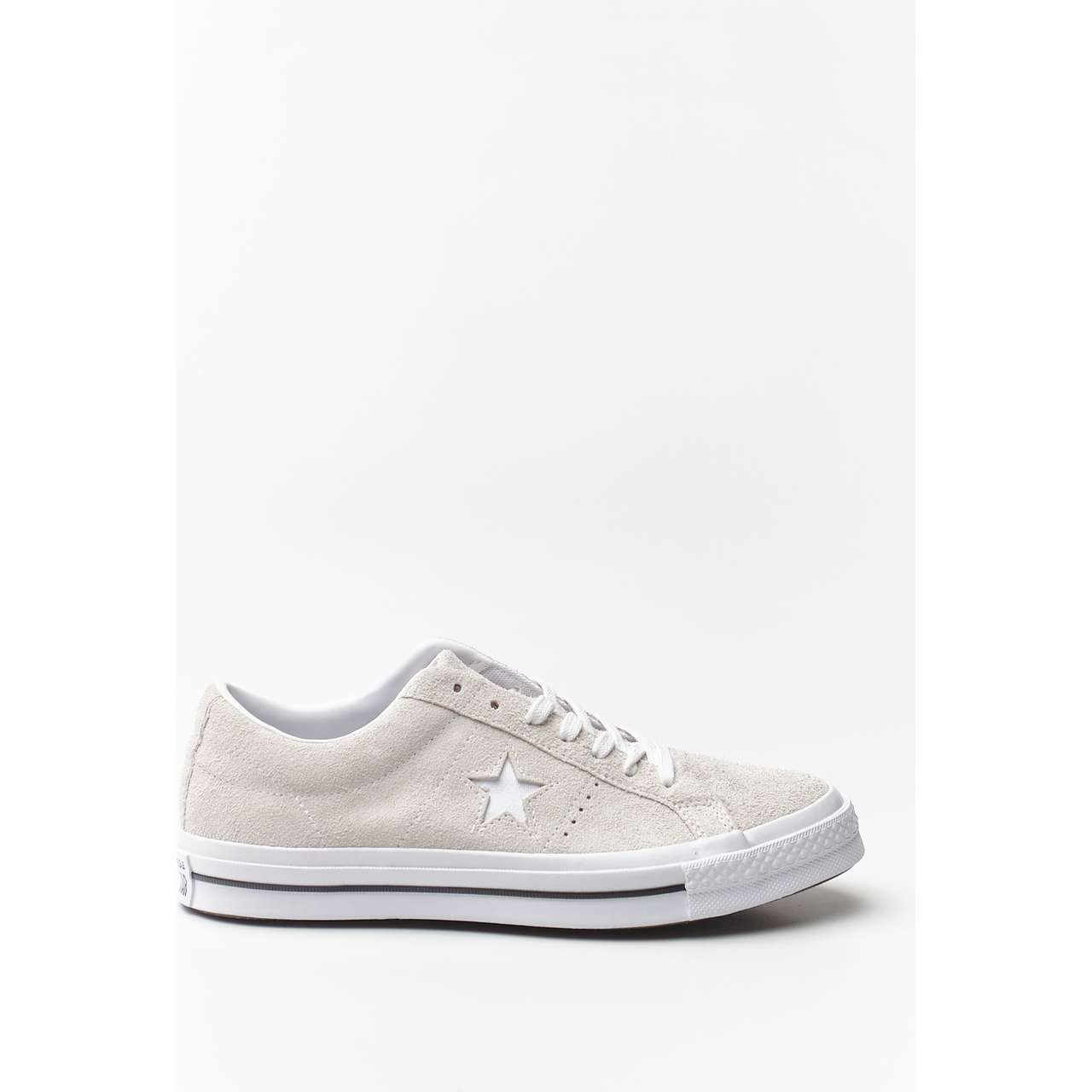 Trampki Converse  <br/><small>ONE STAR SUEDE WHITE </small>  C161577
