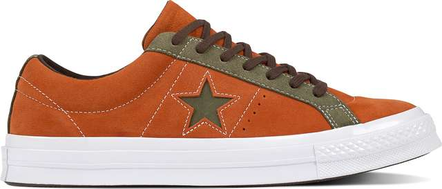Converse C161617 ONE STAR CARNIVAL PACK BOLD MANDARIN/FIELD SURPLUS