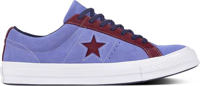 Converse C161618 ONE STAR CARNIVAL PACK DEEP PERIWINKLE/RHODODENDRON